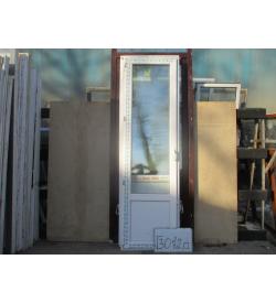 Дверь Пластиковая 2350 (в) х 680 (ш) Б/У