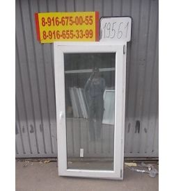 Окно пластиковое 1620х800