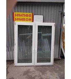 Окно пластиковое 1590х1470