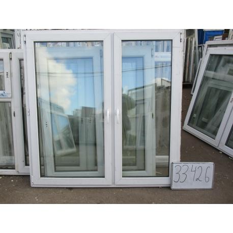 Окно пластиковое 1620х1590