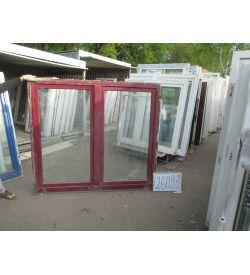 Окно пластиковое 1540х1750