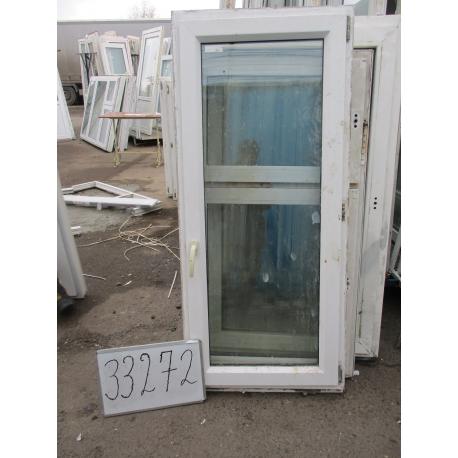 Окно пластиковое 1570х700