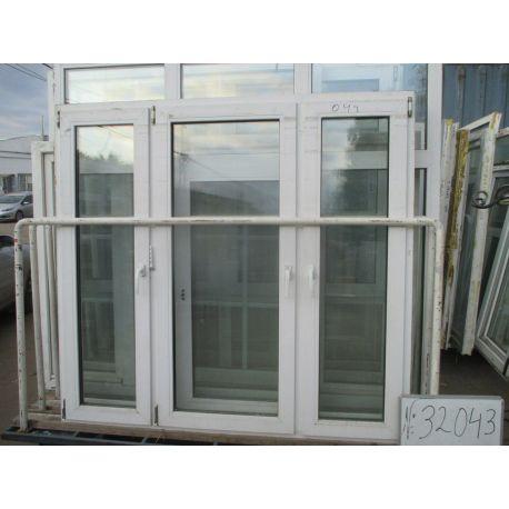 Окно пластиковое 1590х1690
