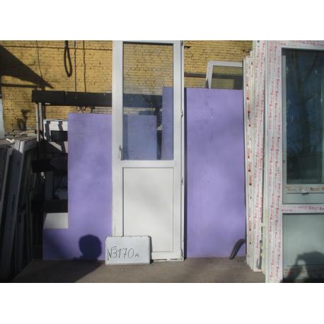 Дверь Пластиковая 2380 (в) х 740 (ш) Б/У