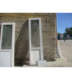 Двери Пластиковые Б/У 2470 (в) х 700 (ш)