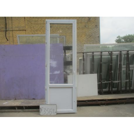 Двери БУ Пластиковые 2540 (в) х 740 (ш)