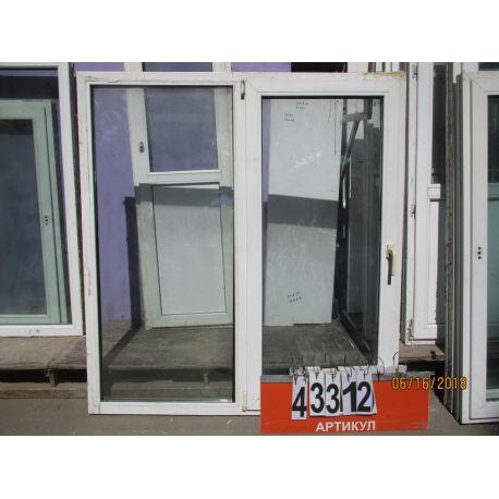 Пластиковые Окна БУ 1650 (в) х 1540 (ш)