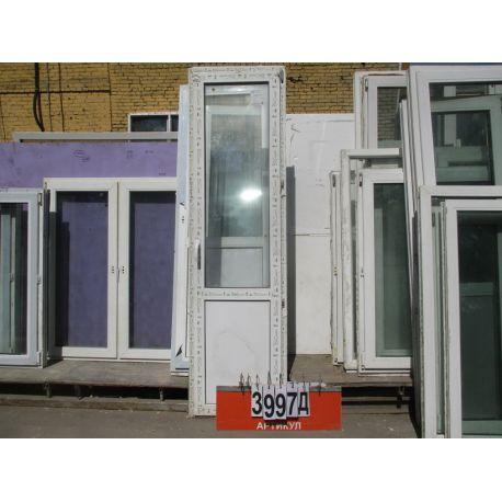 Двери Пластиковые Б/У 2370 (в) х 650 (ш)