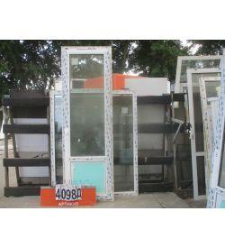 Пластиковые Двери БУ 2350 (в) х 750 (ш)