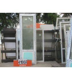 Пластиковые Двери БУ 2350 (в) х 760 (ш)
