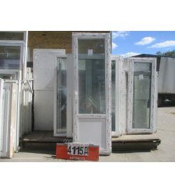 Двери Пластиковые БУ 2370 (в) х 750 (ш)