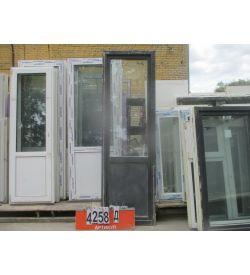 Пластиковые Двери БУ 2490 (в) х 760 (ш)