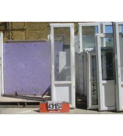 Двери Б У ПВХ 2370 (в) х 680 (ш)
