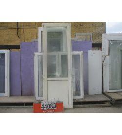 Пластиковые Двери Б/У 2450 (в) х 820 (ш)