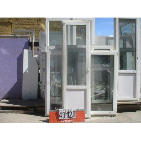 Пластиковые Двери Б/У 2300 (в) х 680 (ш)