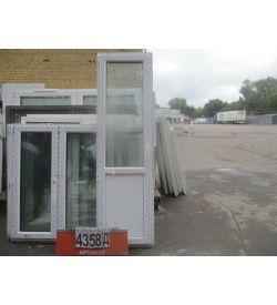 Двери Пластиковые Б У 2290 (в) х 660 (ш)