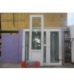 Двери БУ ПВХ 2370 (в) х 660 (ш)