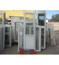 Двери ПВХ БУ 2310 (в) х 690 (ш)