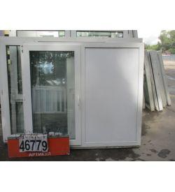 Окна Б/У Пластиковые 1450 (в) х 1650 (ш)