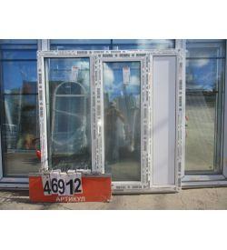 Пластиковые Окна REHAU 1410 (в) х 1420 (ш)
