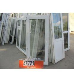 Окна ПВХ Б/У 1600 (в) х 740 (ш)