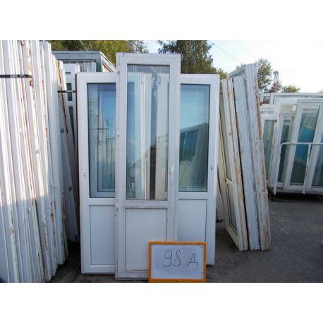 Двери Пластиковые БУ 2370 (в) х 670 (ш)