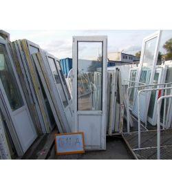 Двери Балконные Б/У ПВХ 2360 (в) х 720 (ш)