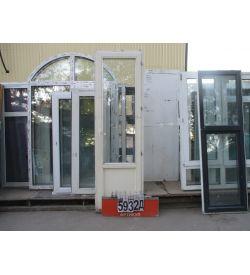 Двери Балконные Деревянные Б/У 2340 (в) х 700 (ш)