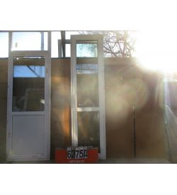 Пластиковые Двери Балконные Б У 2450 (в) х 660 (ш)