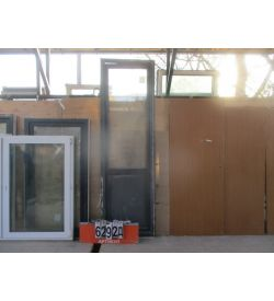 Пластиковые Двери Балконные Б/У 2490 (в) х 760 (ш)