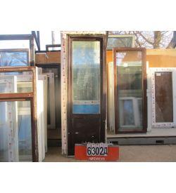 Пластиковые Двери Балконные БУ 2280 (в) х 740 (ш)