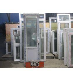 Пластиковые Двери Балконные Б/У 2330 (в) х 720 (ш)