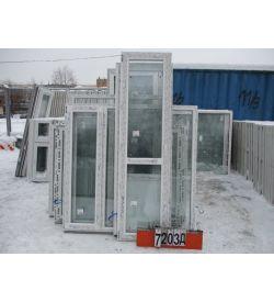 Двери Балконные Пластиковые 2420 (в) х 650 (ш)