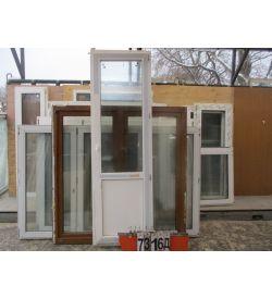 Двери Балконные Пластиковые БУ 2320 (в) х 720 (ш)