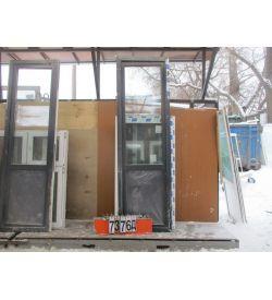 Двери Балконные Пластиковые БУ 2520 (в) х 760 (ш)