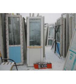 Пластиковые Двери Балконные Б/У 2330 (в) х 760 (ш)
