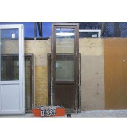 Пластиковые Двери Балконные Б/У 2310 (в) х 700 (ш)