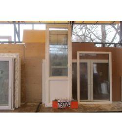 Двери Балконные ПВХ Б/У 2500 (в) х 800 (ш)