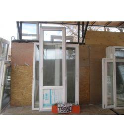 Двери Балконные Б/У Пластиковые 2380 (в) х 760 (ш)