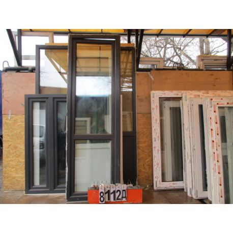 Пластиковые Двери Балконные БУ 2370 (в) х 740 (ш)