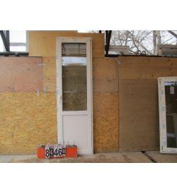 Двери Пластиковые БУ 2330(в) х 700(ш) Балконные ВЕКА