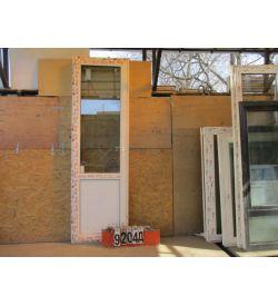 Пластиковые Двери Б/У 2440(в) х 750(ш) Балконные