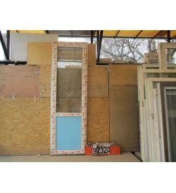 Двери Пластиковые Б/У 2420(в) х 760(ш) Балконные