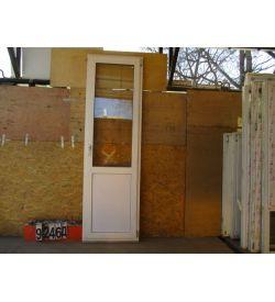 Пластиковые Двери БУ 2350(в) х 710(ш) Балконные
