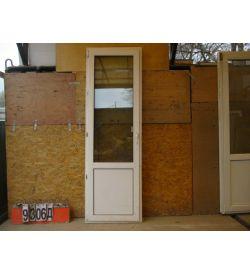 Пластиковые Двери Б/У 2240(в) х 720(ш) Балконные