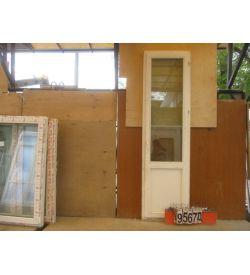 Двери Деревянные Б/У 2570(в) х 720(ш) Балконные
