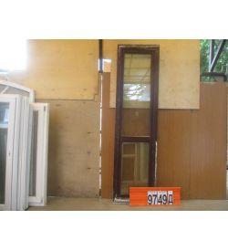 Двери Б/У Пластиковые 2370(в) х 640(ш) Балконные