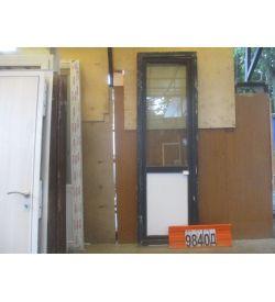 Пластиковые Двери Б/У 2350(в) х 740(ш) Балконные