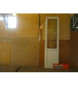 Пластиковые Двери БУ 2600(в) х 700(ш) Балконные