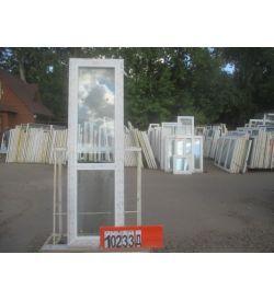 Двери Пластиковые БУ 2300(в) х 680(ш) Балконные